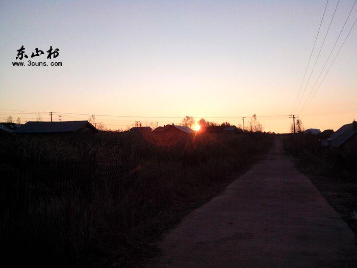 东山村的早晨